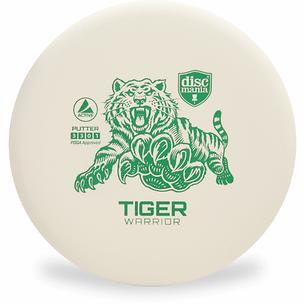 Tiger Warrior, White