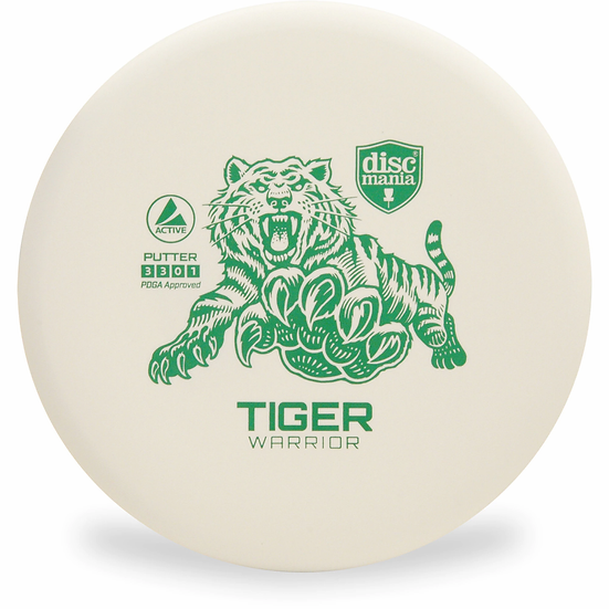 Tiger Warrior, White