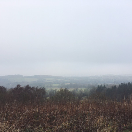 The Clent Hills on New Year's Day