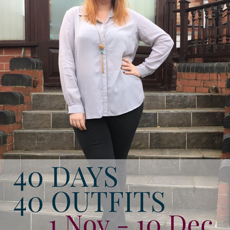 40 Days 40 Outfits: Be You, Be Confident, Be Free