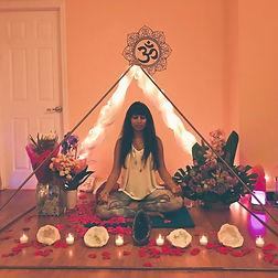 Pyramid Meditation by Grand Master Teacher Alaknanda Nabar, Copper Pyramids, Family of Light Holistic Center