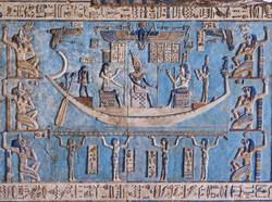 Hathor Temple paintings