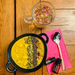 Organic & Raw Overnight Turmeric Oats