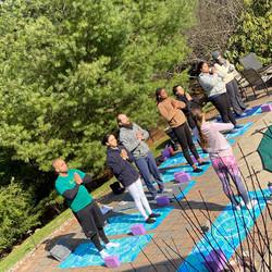 Sunrise Yoga to Activate Sun's Energy