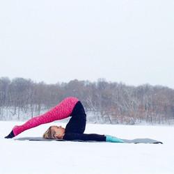 Winter retreat with yoga