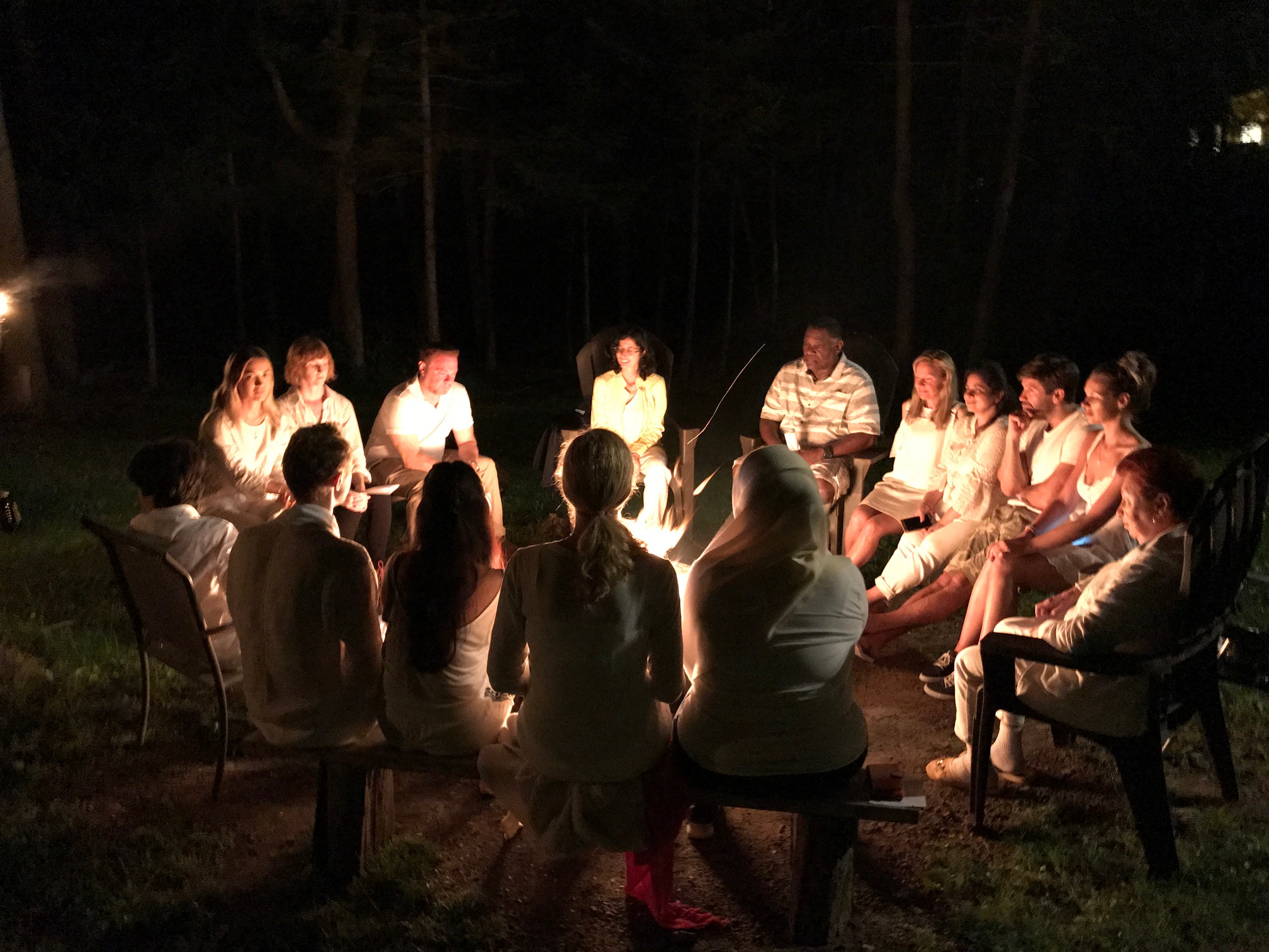 Fire Ceremony, White, Purification