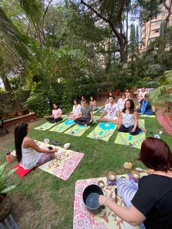Timeline Healing Meditation with Crystal Sound Bowls
