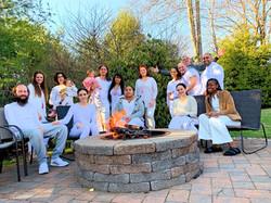 Campfire Hangout & White Ceremony