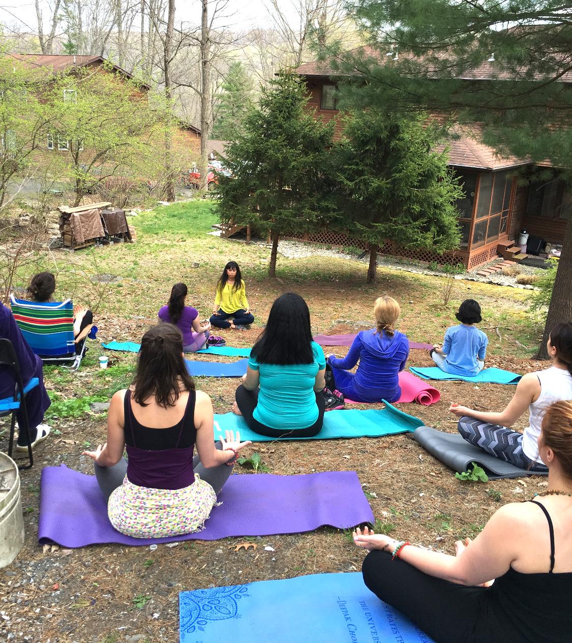 Healing Meditation in Nature