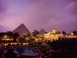 Hotel with Pyramids View
