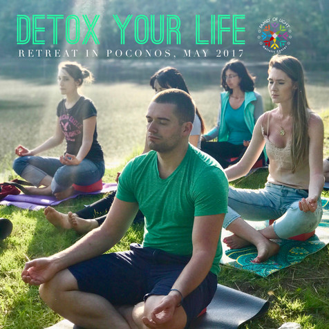 REJUVINATING RETREAT IN POCONOS 'DETOX YOUR LIFE', MAY 2017