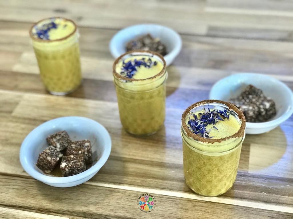 Vegan Organic Turmeric Latte