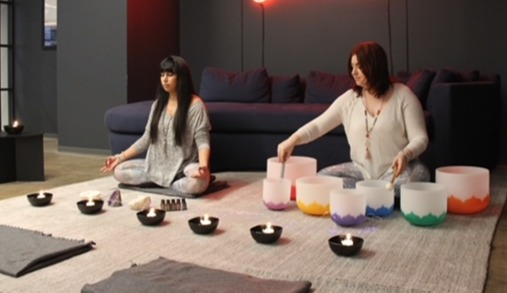 Chakra Balancing with Crystal Sound Bowl Meditation