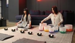 Chakra Balancing with Crystal Sound Bowl Meditation