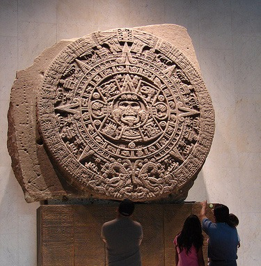 Ancient Mayan SUN DISC