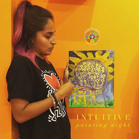 INTUITIVE PAINTING AND ART THERAPY