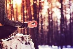 Winter Outdoors Meditation