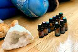 Healing with crystals & essential oils