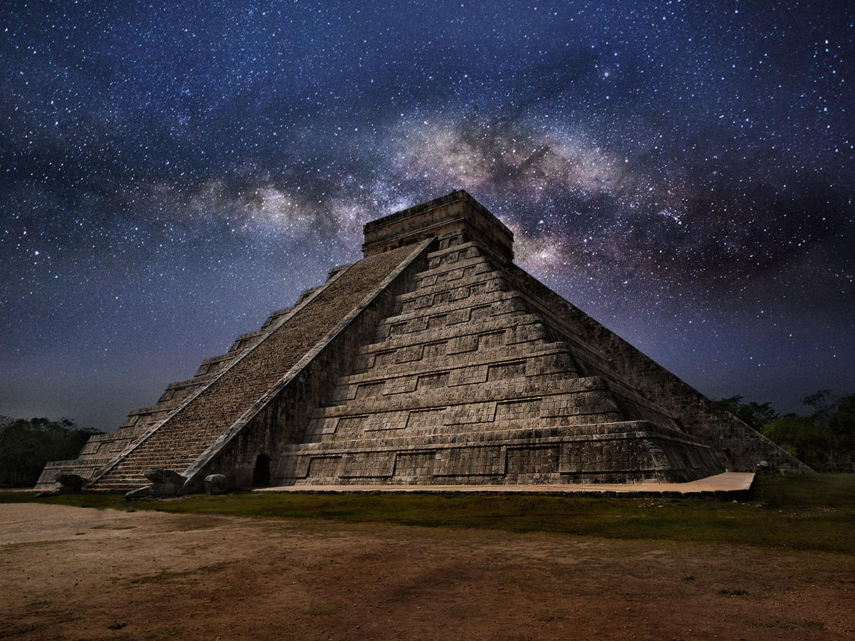 Midnight at Chichen Itza
