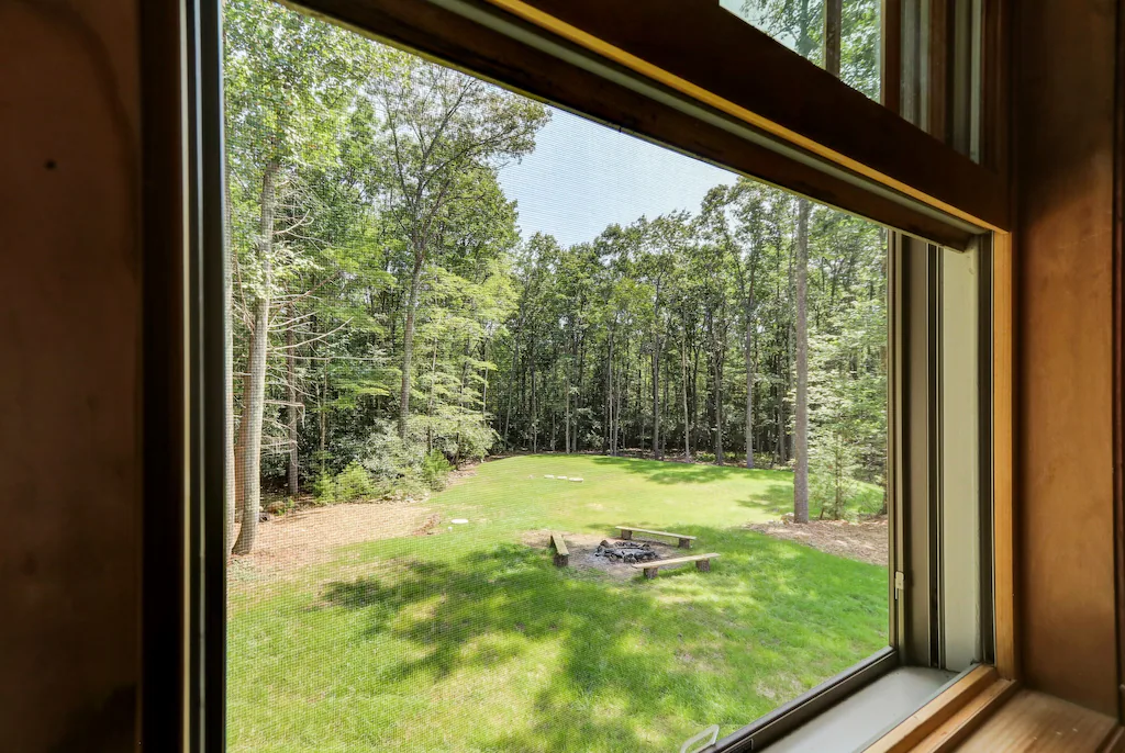 View of Forest from Bedroom