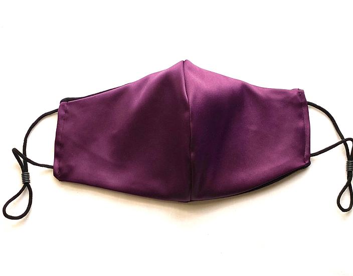 Royal Purple Silk Face Mask