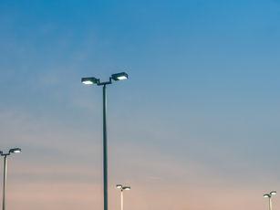 Street Light Pole at Sunset.jpg