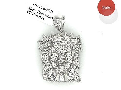 Queen w Crown Pendant