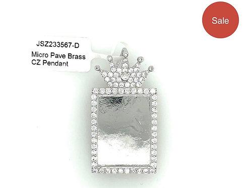 Crown Picture Pendant