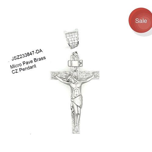 Brass Jesus Piece