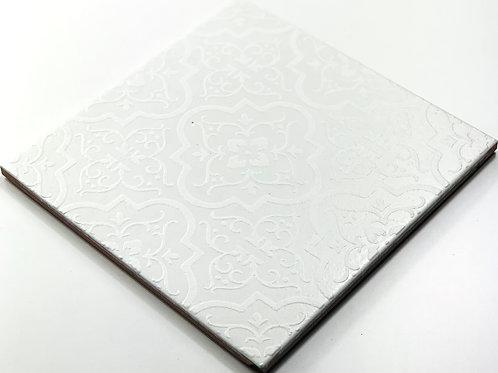 20x20cm Decori Wonder's Patch 1 Bianco WP300