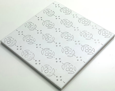 20x20cm Decori Wonder's Patch 5 Silver WP300