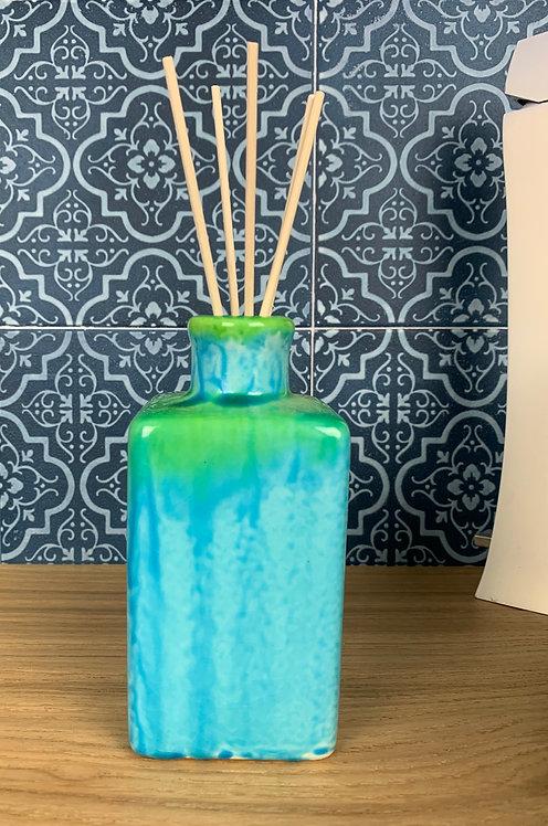 Bottiglia essenziale Azzurro/Verde