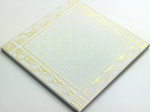 20x20cm Decori Wonder's Patch 4 Gold WP300