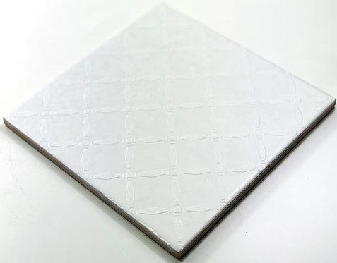 20x20cm Decori Wonder's Patch 6 Bianco WP300