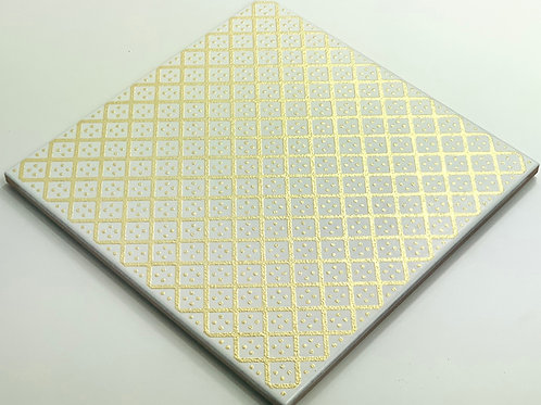 20x20cm Decori Wonder's Patch 2 Gold WP300