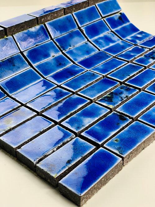 Mosaico in Lava 2,3x4,8 Canaletto Bluette