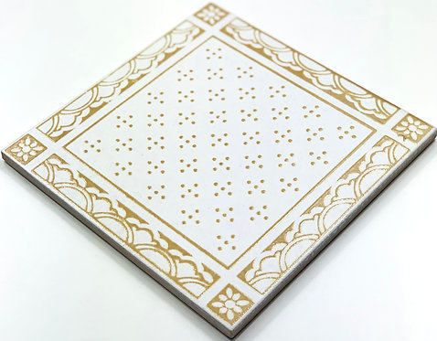 20x20cm Decori Wonder's Patch 4 Beige WP300