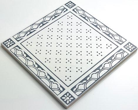 20x20cm Decori Wonder's Patch 4 Grigio WP300