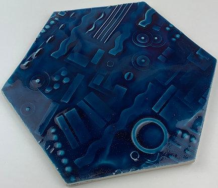 EXA20 N°2 RILIEVO   A32 BLU ELETTRICO
