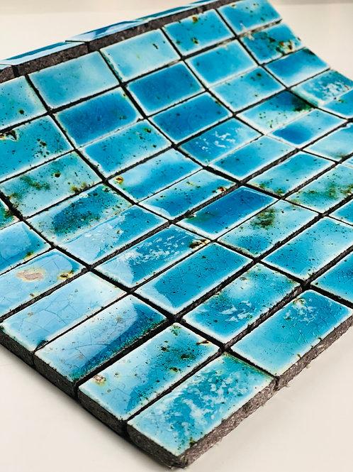 Mosaico in Lava 2,3x4,8 Canaletto Azzurro