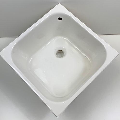 Lavabo Cucina incasso 40x40 bianco lucido