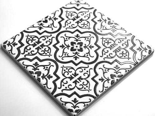 20x20cm Decori Wonder's Patch 1 Nero WP300