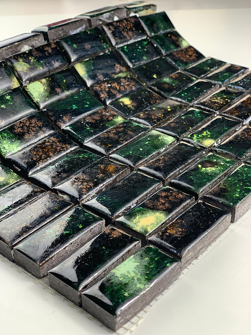 LAVASTONE 2,3x4,8 Mosaico Galassia Verde