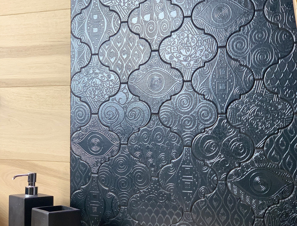 Arabesco Decor W355 Klimt nero
