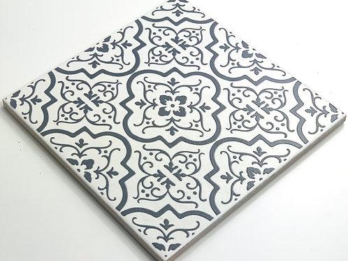 20x20cm Decori Wonder's Patch 1 Grigio WP300