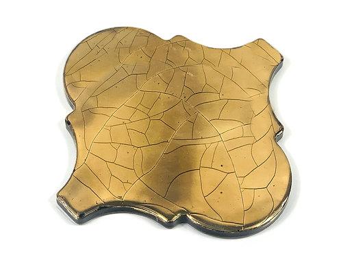 15x15 Arabesco Oro Lucido