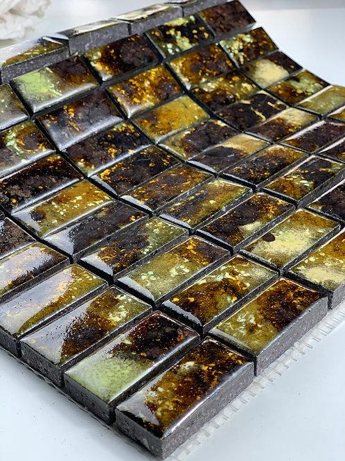 LAVASTONE 2,3x4,8 Mosaico Galassia Miele