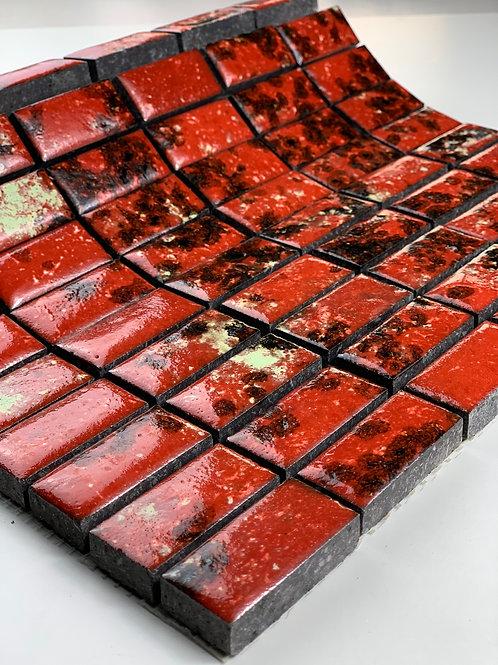 LAVASTONE 2,3x4,8 Mosaico Galassia Corallo