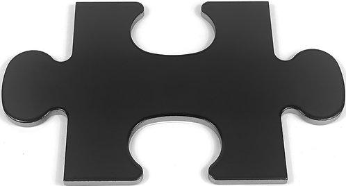 17x28 Puzzle A55 Nero Lucido
