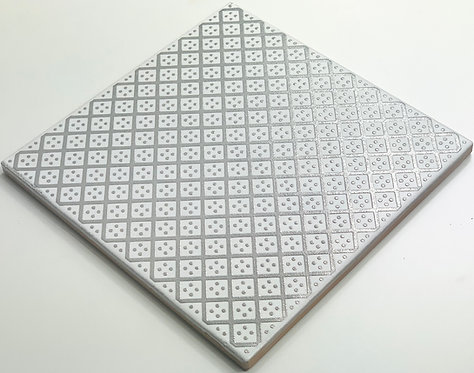 20x20cm Decori Wonder's Patch 2 Silver WP300